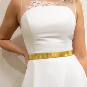 Brautgürtel Leder