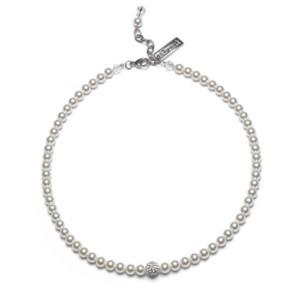 Perlenkette mit Swarovskikristallperle