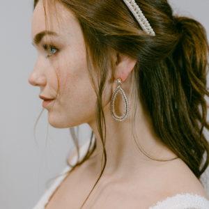 Statement-Ohrringe mit Swarovskikristallen