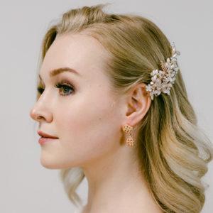 Ohrringe mit Swarovskikristallen