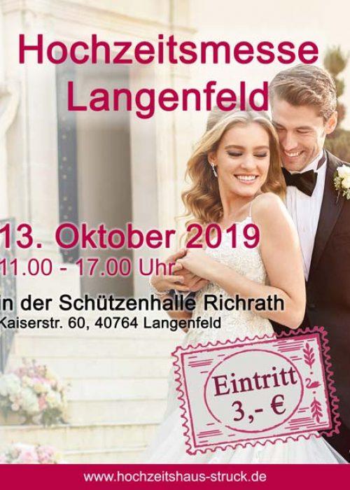 Hochzeitsmesse Langenfeld 2019